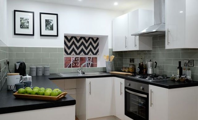 fully renovated kitchen