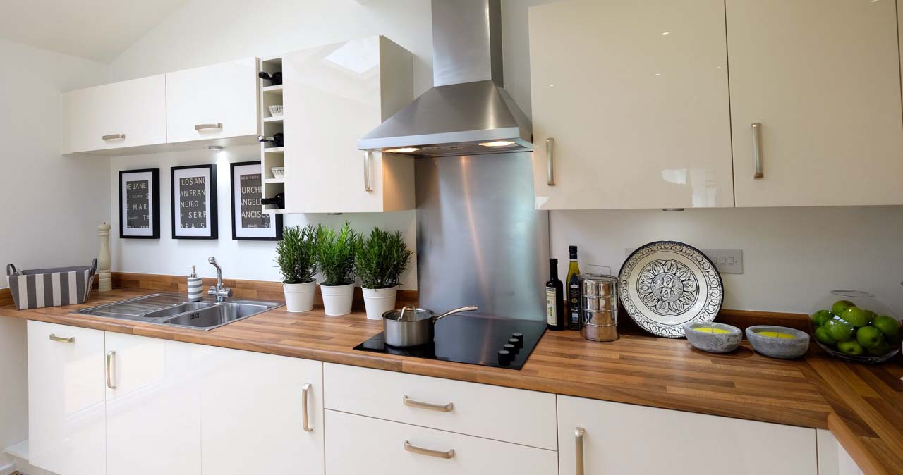 show home staging kitchen