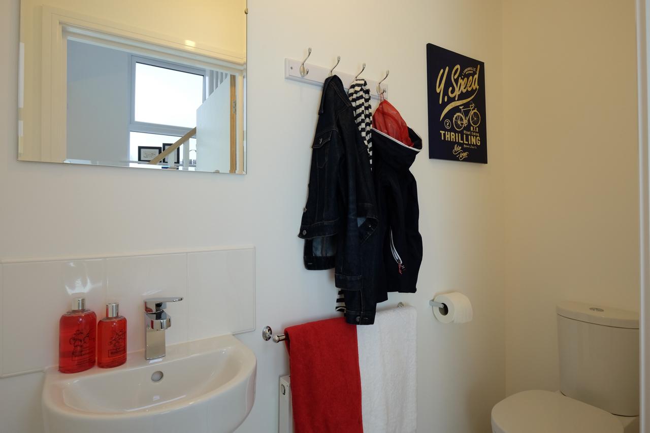 Show home bathroom Cheshire
