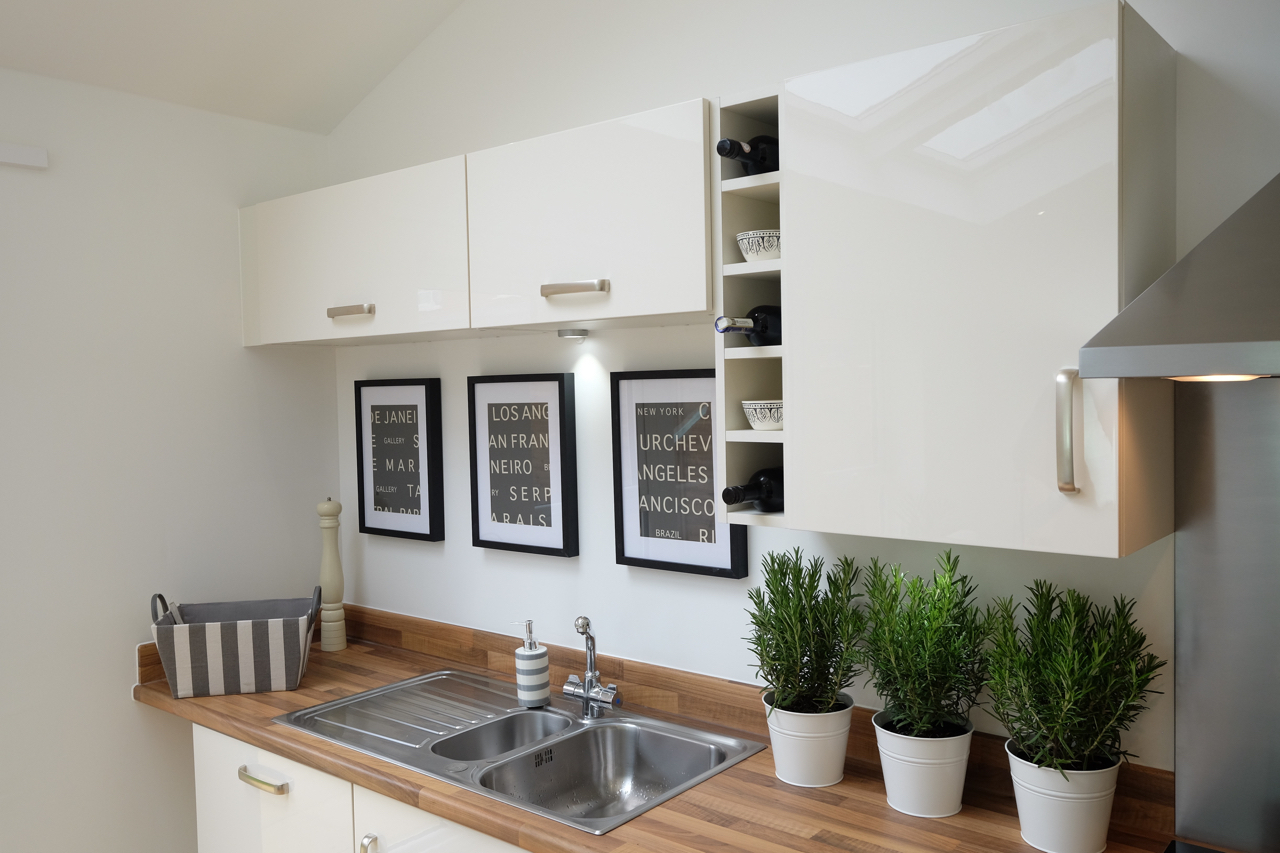 Kitchen for Show Home cheshire