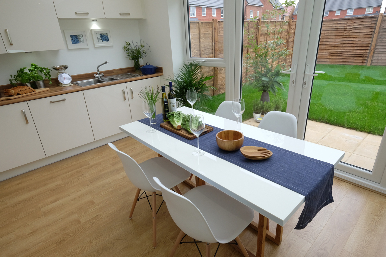 Show Home kitchen dining room manchester
