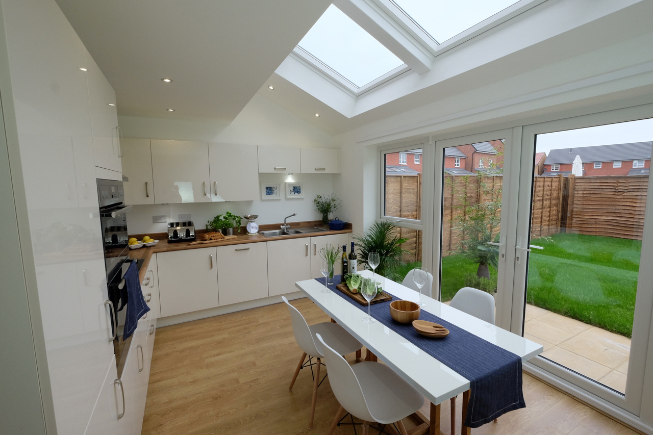 Manchester Show Home Kitchen Dining room