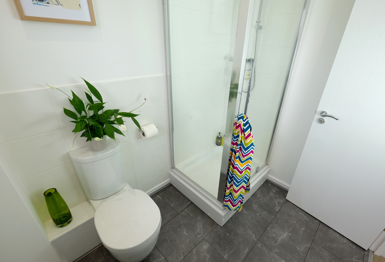 Show Home bathroom Manchester North