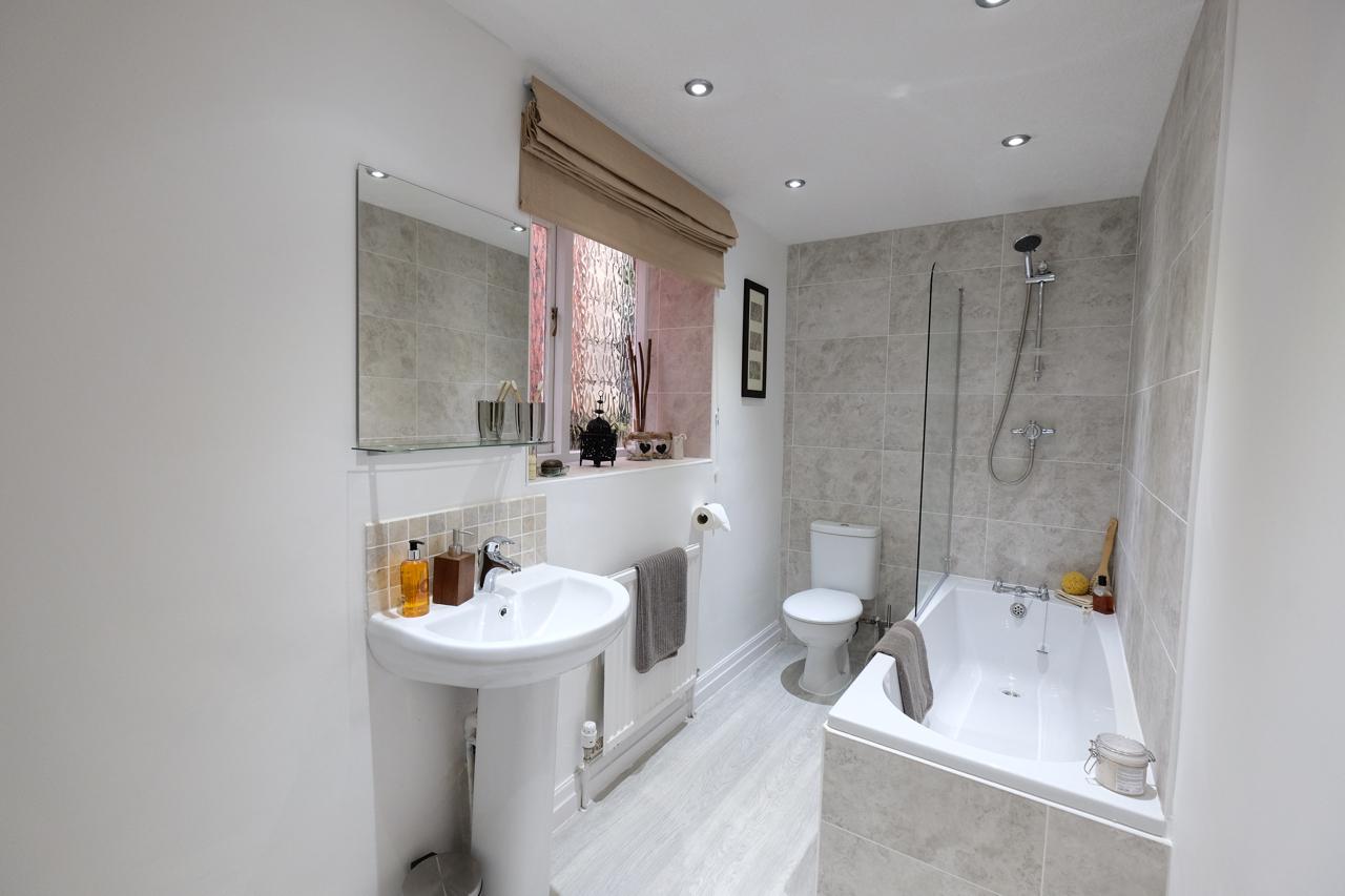 Home staging bathroom update Bury