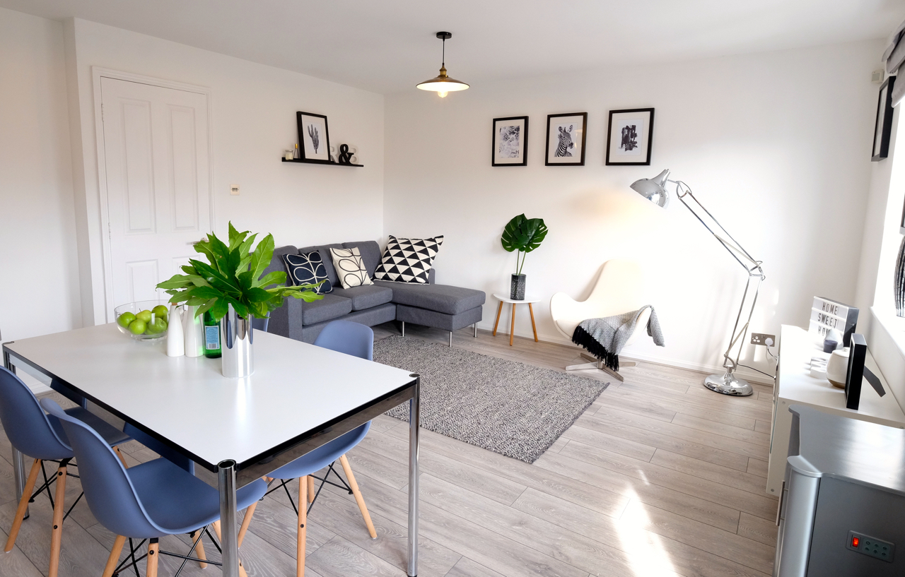 Show home Salford Manchester Apartment