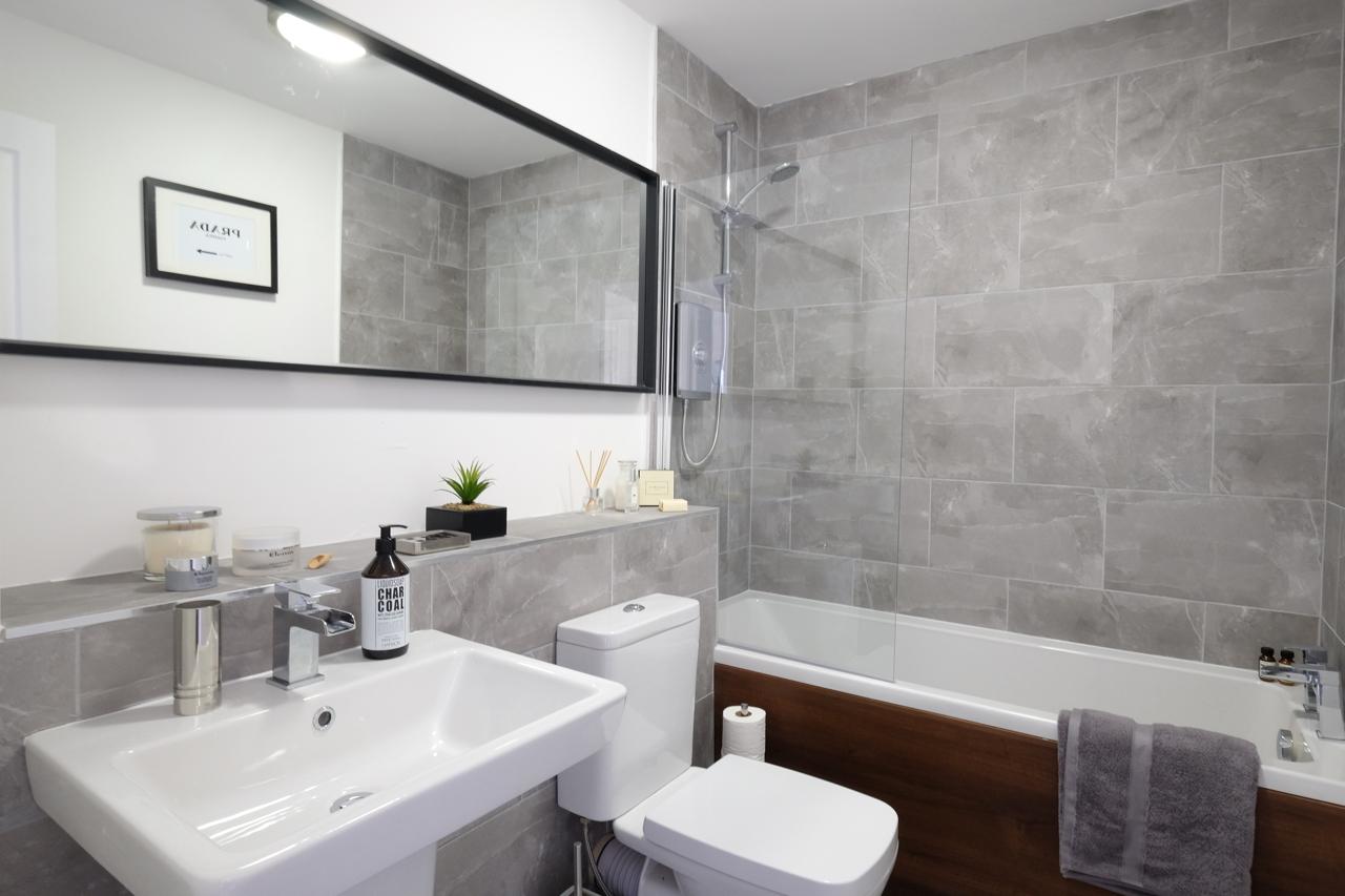 Salford Show Home bathroom